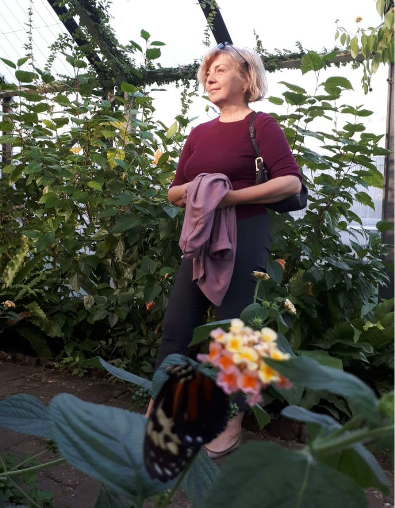 Dārzu dizainere, stiliste – Pārsla Ķelpe